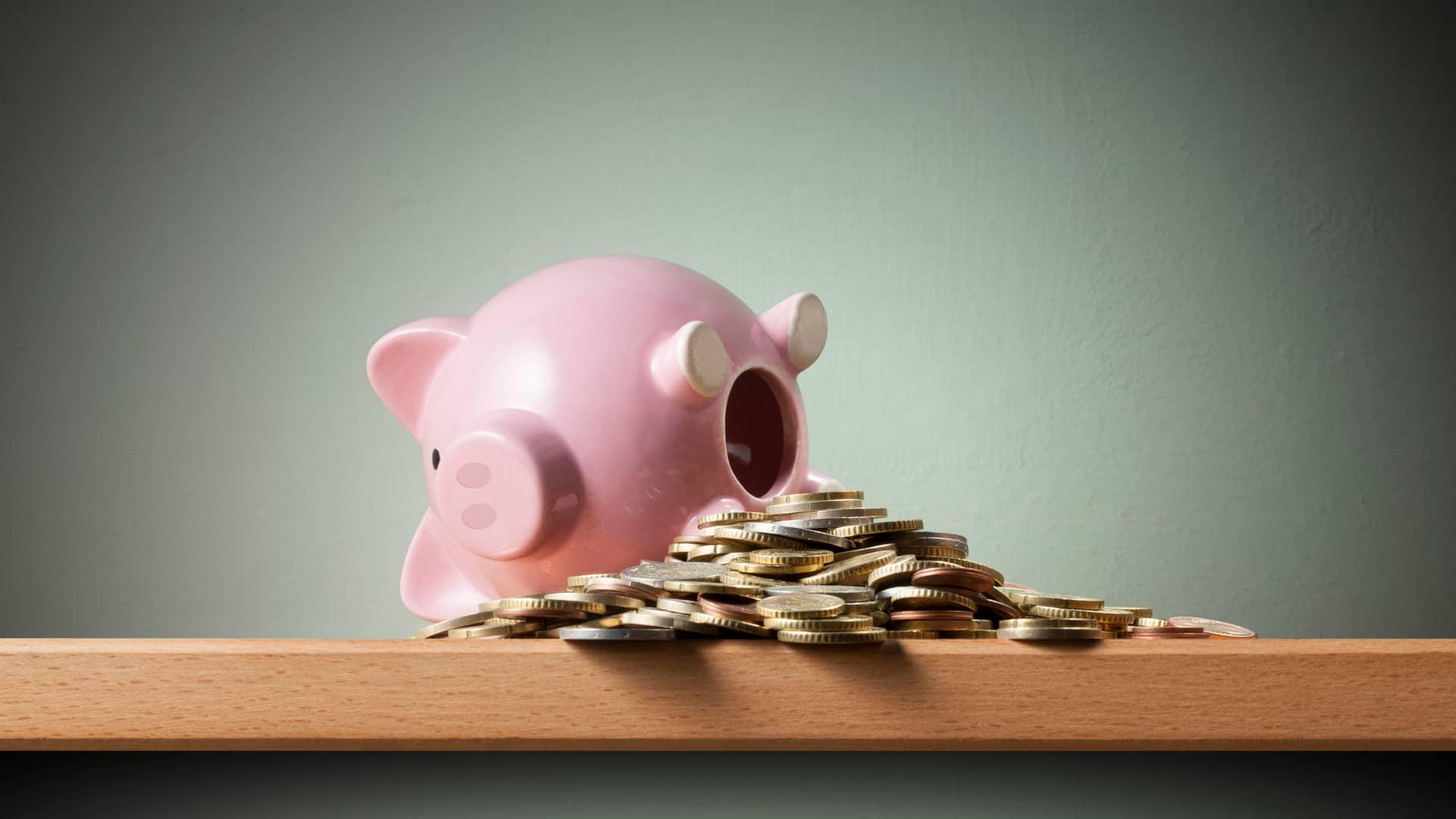 Vaciar hucha para el plan de rescate de la pensión