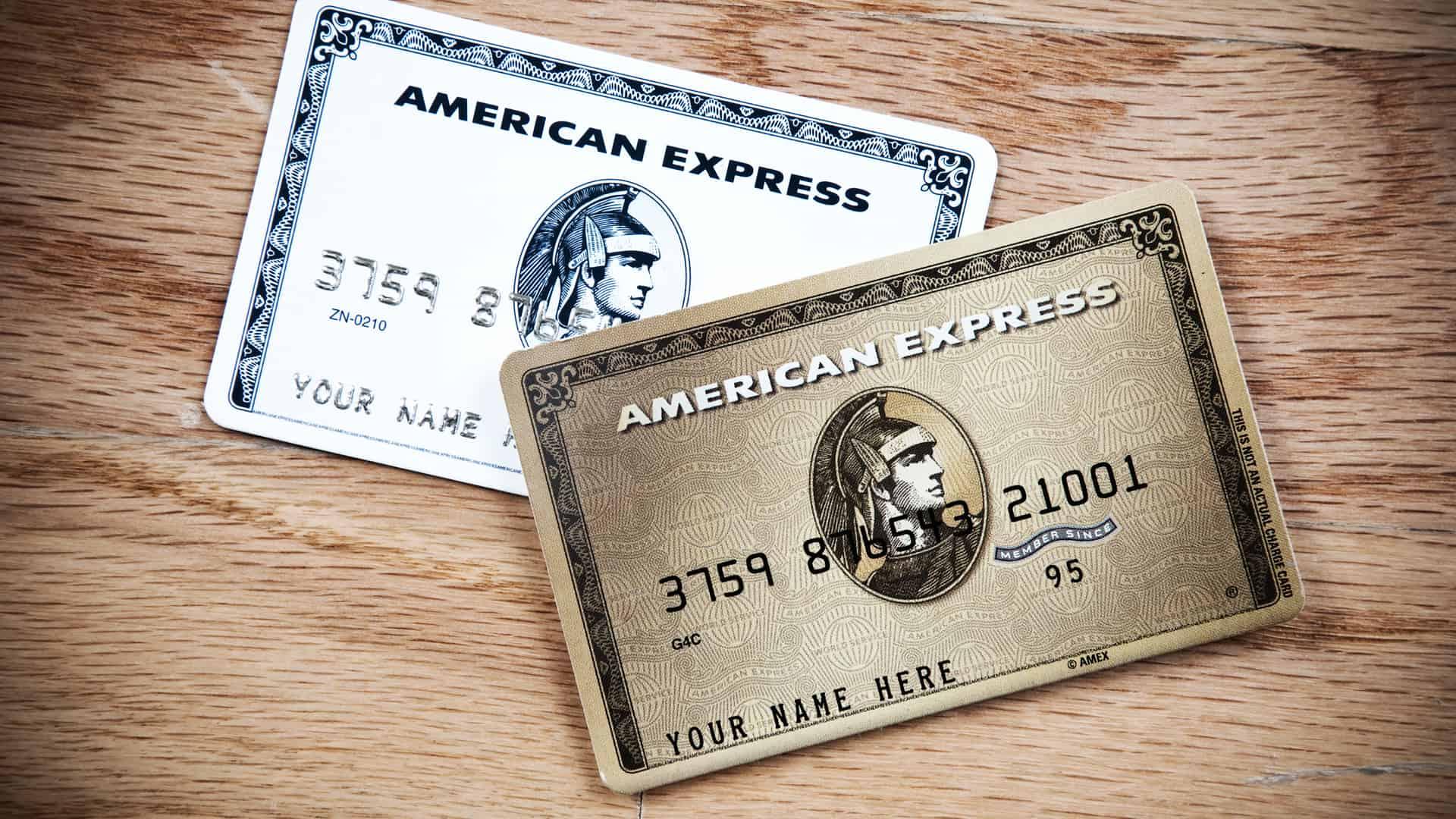 Tarjetas de crédito American Express